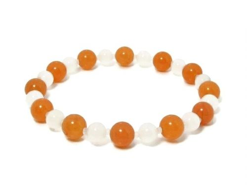 Orange / Peach Fashion Bracelets